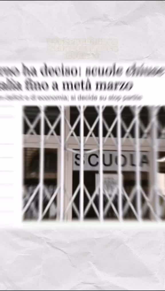 意大利政府决定关闭全国学校及大学